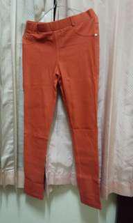 Celana jeans warna orange merk imelson99 NEW