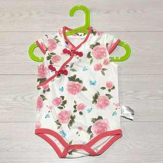 🚚 PRELOVED Chinese New Year Baby Girl Romper/Onesie for 9 months old