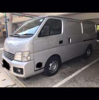 Economy Cheap Van For Short or Long Term Rental Leasing.