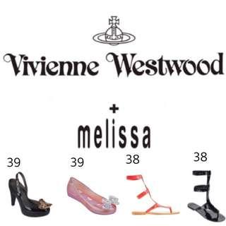 🚚 全新正品Vivienne Westwood X Melissa 香水鞋