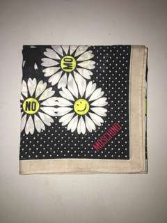 moschino cotton scarf
