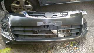 Front bumper alza facelift