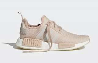 NWT Adidas NMDs R1 Ash Pearl Women's Size 7