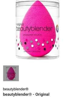 #最後2粒 【$175】beautyblender beauty blender - Original 美妝蛋 上妝神器 無可替代既存在 上妝 暈染遮瑕 陰影大推!好評如潮!Super Highly Recommended by So Many YouTubers! Allure Best of Beauty award winner.🏆