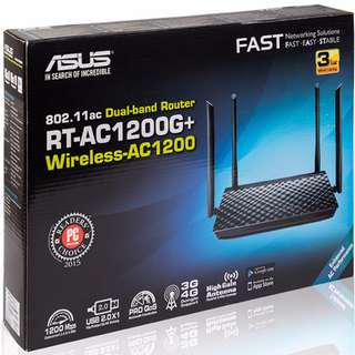 ASUS AC1200G+ DUAL BAND WIFI ROUTER
