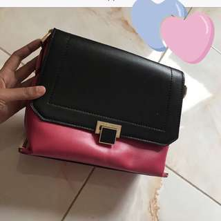 Charles & Keith sling bag/clutch