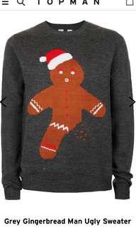 Topman Gingerbread Sweater