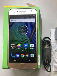 99%New Motorola G5 Plus XT1685 4GB 32GB Dual Gold