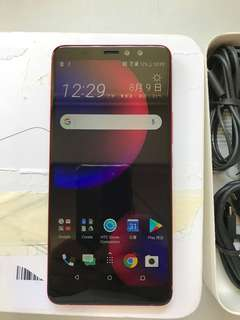 HTC U11 eyes 4GB 64GB Dual Red(screen sratches)