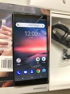 99%New Nokia 8 Sircocco TA-1005 Single 128GB 6GB Black