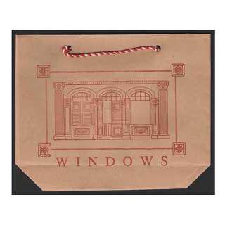 1992 Singapore Architectural Heritage Series - Windows - pre-stamped postcards