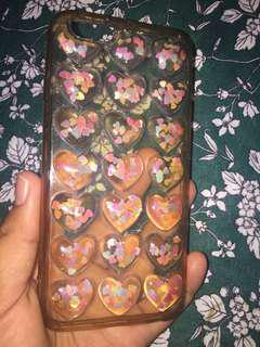 Case love transparant iphone 6