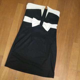 平口短窄裙 小禮服