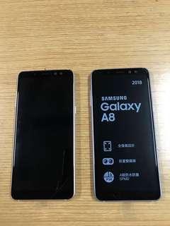 三星 Samsung Galaxy A8 32GB 金色 紫色