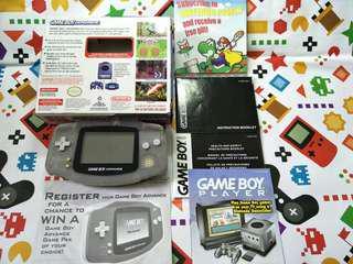 Nintendo GameBoy advance US version full set with box