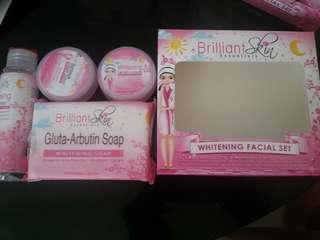 Brilliant whitening set