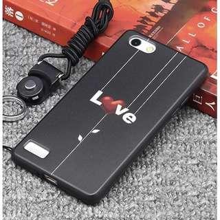 Love Y75 V7 Y79 V7 plus soft rubber case