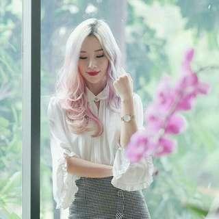 Gowigasa long sleeve blouse