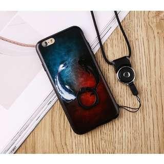 Fish iphone 6 plus 6splus 7 8 hard ring case