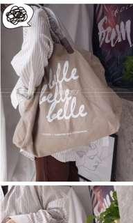 日單附錄🌹麻質 帆布 麻布袋 文青環保購物袋超特大容量