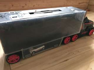 Truck ( car box) and toy cars