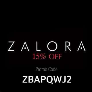 [RM 0] ZALORA 15% OFF