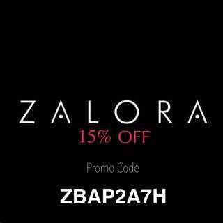 [RM 0] FREE ZALORA 15% OFF