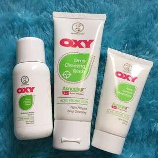 OXY acne treatment