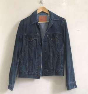 Original Levi's Ripped Style Denim Jacket (med) (unisex)