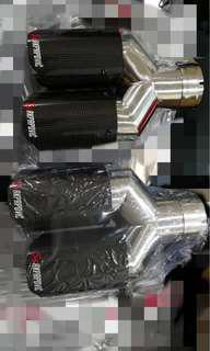 Akrapovic quad exhaust tips