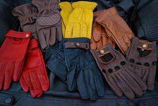 Leather Gloves/ Sarung Tangan Kulit [PreOrder]