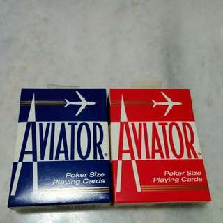 Aviator Playing cards Blue seal SALES!