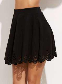 🚚 Black Skater Skirt