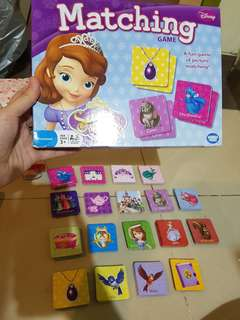 Matching Game Sofia The First