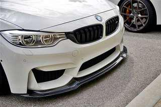 BMW F30 M3 100% carbon lips