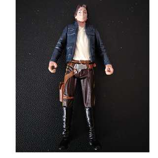 Star Wars Han Solo Loose figure Mint removed from pack no weapon