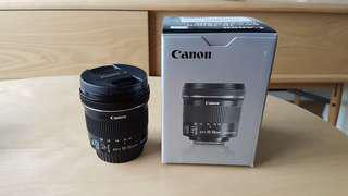 (C) Canon EFS 10-18mm f/4.5-5.6 IS STM