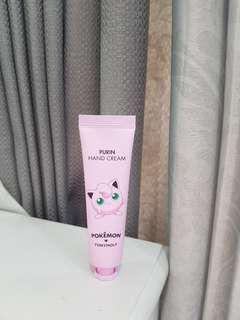 TonyMoly Purin hand cream (pokémon edition)