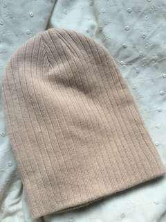 Baby pink Cotton On beanie