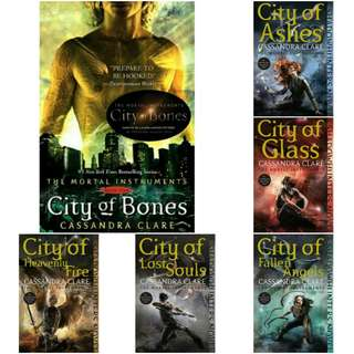 The Mortal Instruments: Complete Collection (EBOOK)