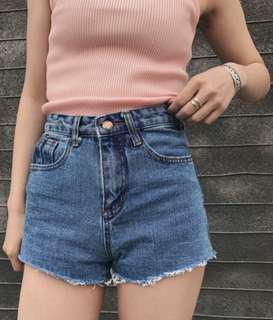🚚 Rose Denim Shorts
