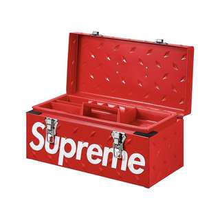 Supreme FW18 Diamond Plate Tool Box
