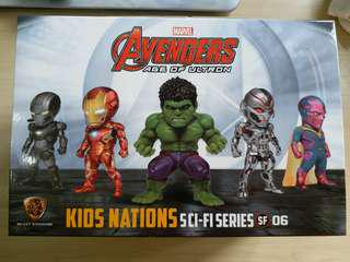 Marvel Avengers kids nations SF 06 -全套