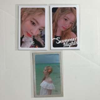 Twice Summer Nights 專輯 小卡 Da Hyun 多賢