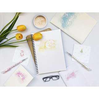 🚚 Personalised Notebook
