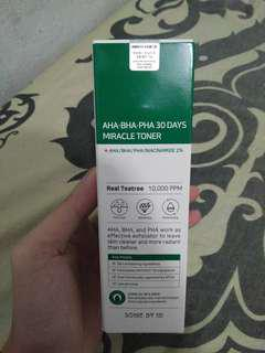 SOMEBYMI AHA.BHA.PHA 30 DAYS MIRACLE TONER