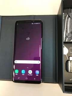 99%New Samsung Galaxy S9 G960FD 4GB 64GB Dual Purple