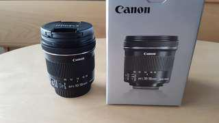 (D) Canon EFS 10-18mm f/4.5-5.6 IS STM