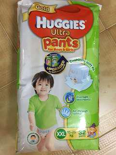 Huggies Ultra Pants (GOLD)