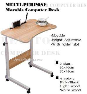 Free delivery Laptop Computer movable Table